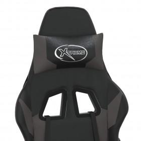 biroja krēsli, 2 gab., zila mākslīgā āda