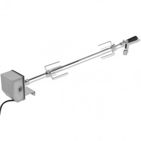 elektriskais grila iesms ar motoru, 1200 mm