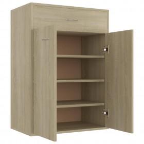 plauktu dēļi, 4 gab., betonpelēki, 60x40x1,5 cm, skaidu plāksne