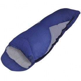 mūmijas veida guļammaiss, vienvietīgs, ūdensizturīgs