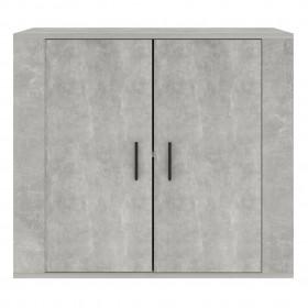 plauktu dēļi, 4 gab., pelēki, 40x40x1,5 cm, skaidu plāksne