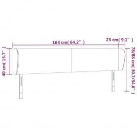 monitora paliktnis, 100x24x13cm, skaidu plāksne, spīdīgi pelēks