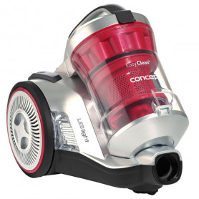 Putekļu sūcējs Concept 700W sudraba/sarkans