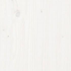 virtuves galds, spīdīgi balts, 160x80x76 cm, skaidu plāksne