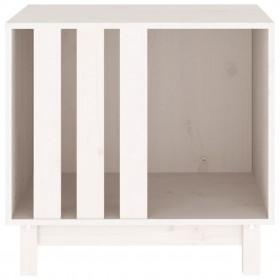 datorgalds, balts ar ozolkoku, 80x50x75 cm, kokskaidu plātne