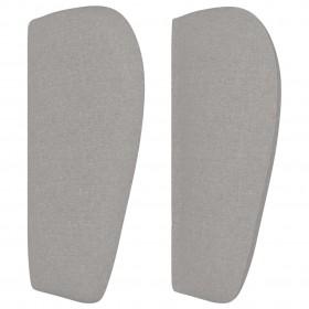 kukaiņu siets durvīm, četrdaļīgs, melns, 120x240 cm