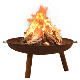ugunskura vieta, 91x81,5x40 cm, tērauds