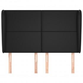 paklājs, dabīgā āda, tekstilmozaīka, 80x150 cm, brūns ar baltu