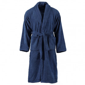 halāts, 100% kokvilna, M, unisex, zils