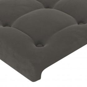 divpusējs gultas pārklājs, 220 x 240cm, stepēts, sarkans/pelēks