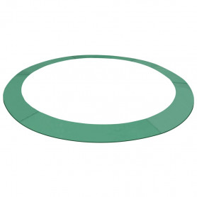 aizsargapmale apaļam batutam, zaļa, 12 pēdas/3,66 m diametrā