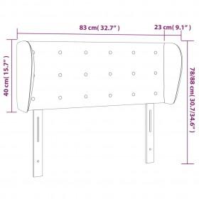ūdeni izsmidzinošs ventilators ar statīvu, 3 ātrumi, melns