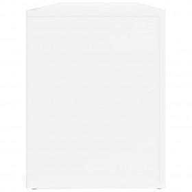 masāžas galds, saliekams, 2 daļas, 10 cm, biezs, balts
