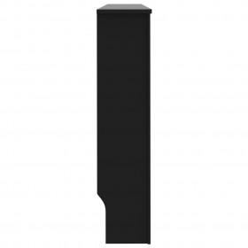 šūpuļkrēsla matracis, melns, 150 cm, audums