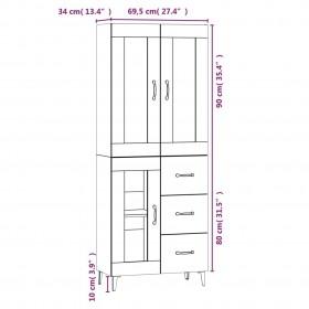 mākslīgais augs, juka ar podiņu, zaļš, 145 cm