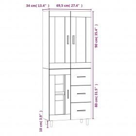 velosipēda piekabe, 65 kg, melna ar pelēku