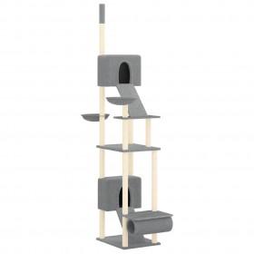 griestu ventilators ar lampu, 76 cm, tumši brūns