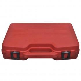 šūpuļkrēsla matracis, pelēkbrūns, 120 cm, audums