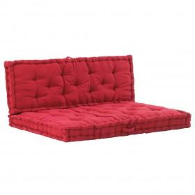 vidaXL bērnu gultas aizsargbarjeras, 2 gab., rozā, 150x42 cm