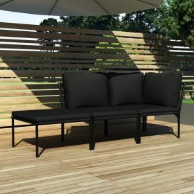 vidaXL nosmailināti žoga stabi, 4 gab., lazdas koks, 90 cm